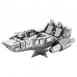 Puzzle 3D en métal - Star Wars Vaisseau Snow Speeder du Premier Ordre