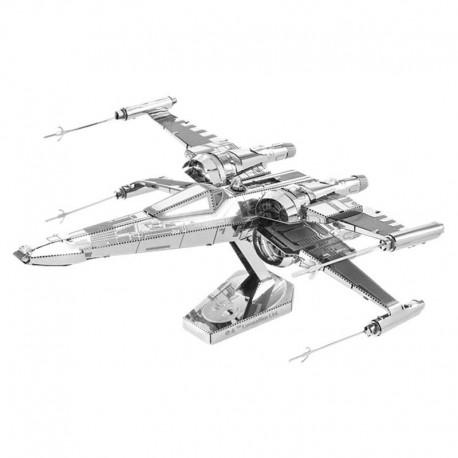 Puzzle 3D en métal - Star Wars Vaisseau X-Wing de Poe DAMERON