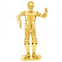Puzzle 3D en métal - Star Wars C3PO doré (Z-6PO)