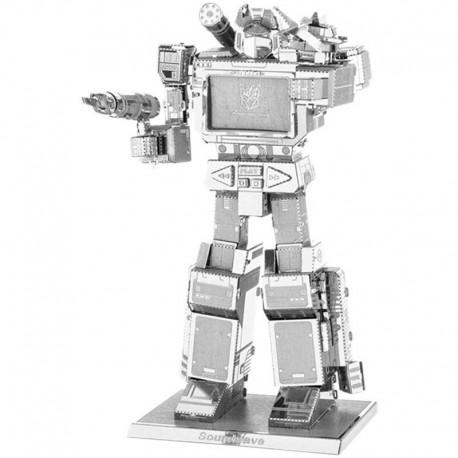 Puzzle 3D en métal - Transformers Soundwave