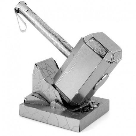 Maquette metal 3D - Avengers Le Marteau de Thor