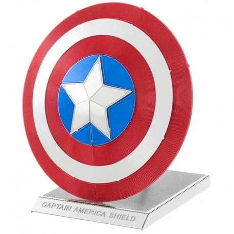 Maquette métal 3D - Avengers Le Bouclier du Capitaine America