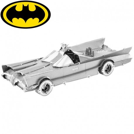 Puzzle 3D en métal - Batmobile 1966 Batman