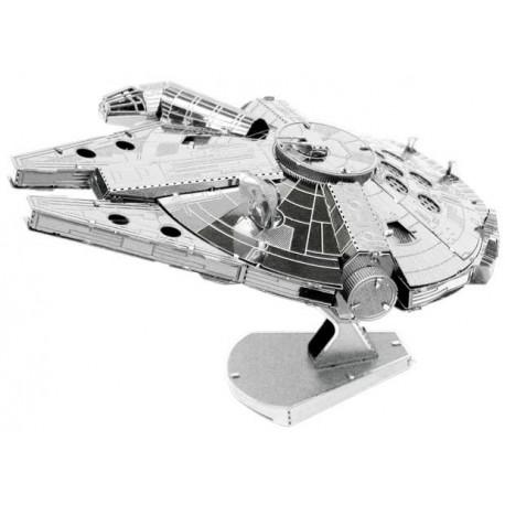 Puzzle 3D métal - Star Wars Faucon Millénium