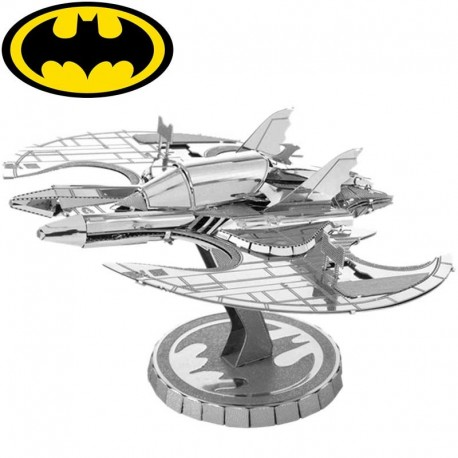 Puzzle 3D en métal - Batwing 1989 Batman