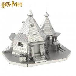 Maquette en métal - Cabane de Rubeus Hagrid Harry Potter