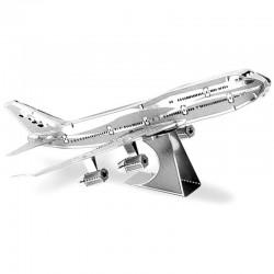 Puzzle 3D en métal - Boeing 747