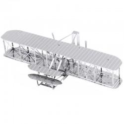 Puzzle 3D en métal - Avion des Frères WRIGHT