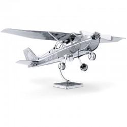 Puzzle 3D en métal - Avion Cessna 172 Skyhawk