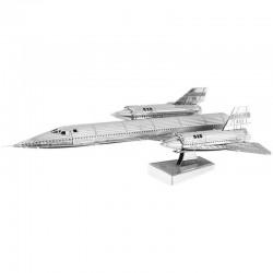 Puzzle 3D en métal - Avion Supersonique SR-71 Blackbird
