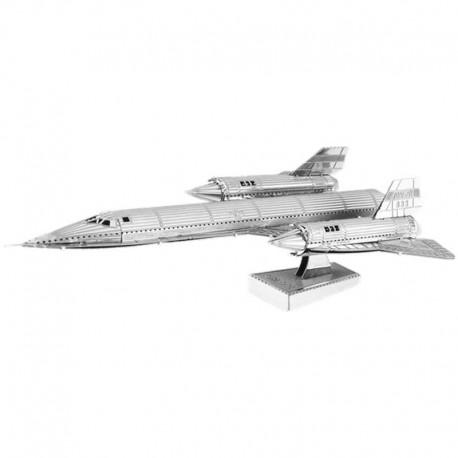 maquette avion metal - Supersonique SR-71 Blackbird