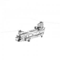Puzzle 3D en métal - Hélicoptère CH-47 Chinook