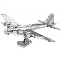 Puzzle 3D en métal - Avion B-17 Flying Fortress