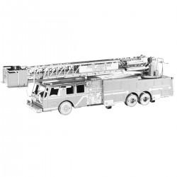 Puzzle 3D en métal - Camion de pompier