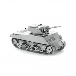 Maquette en métal - Char de combat Sherman