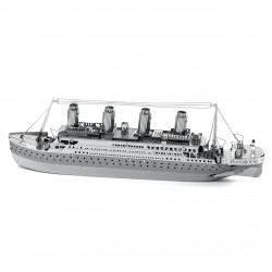 Puzzle 3D en métal - Titanic