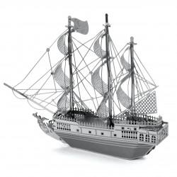Puzzle 3D en métal - la Perle noire (Black Pearl)