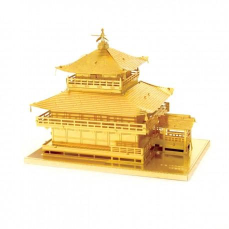 Puzzle 3D en métal - Gold Kinkaku-Ji