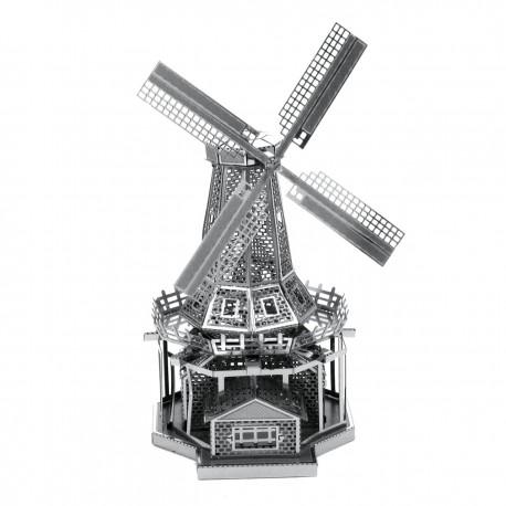 Puzzle 3D en métal - Moulin à Vent