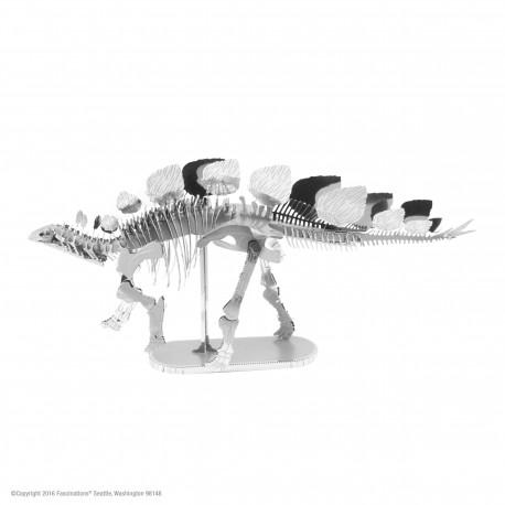 Puzzle 3D en métal - Squelette Stégosaure