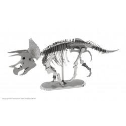 Puzzle 3D en métal - Squelette Tricératops