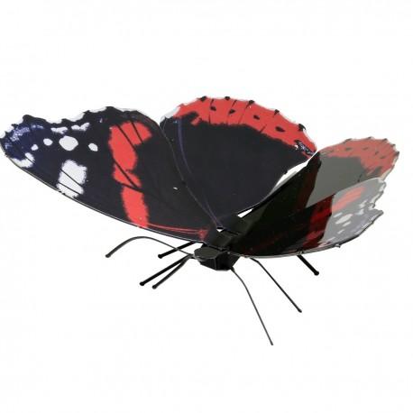 Puzzle 3D en métal - Papillon Red Admiral