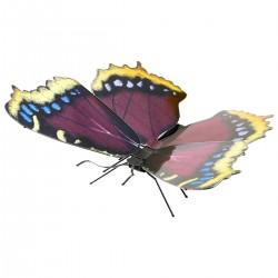 Maquette en métal - Papillon Morio