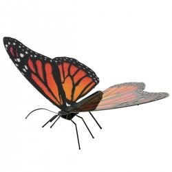 Puzzle 3D en métal - Papillon Monarque