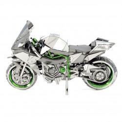 Puzzle 3D en métal - Kawasaki H2R