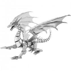Puzzle 3D en métal - Dragon Argent