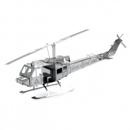 Maquette en métal - Hélicoptère Huey