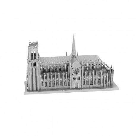 Maquette Notre Dame de Paris en métal à monter