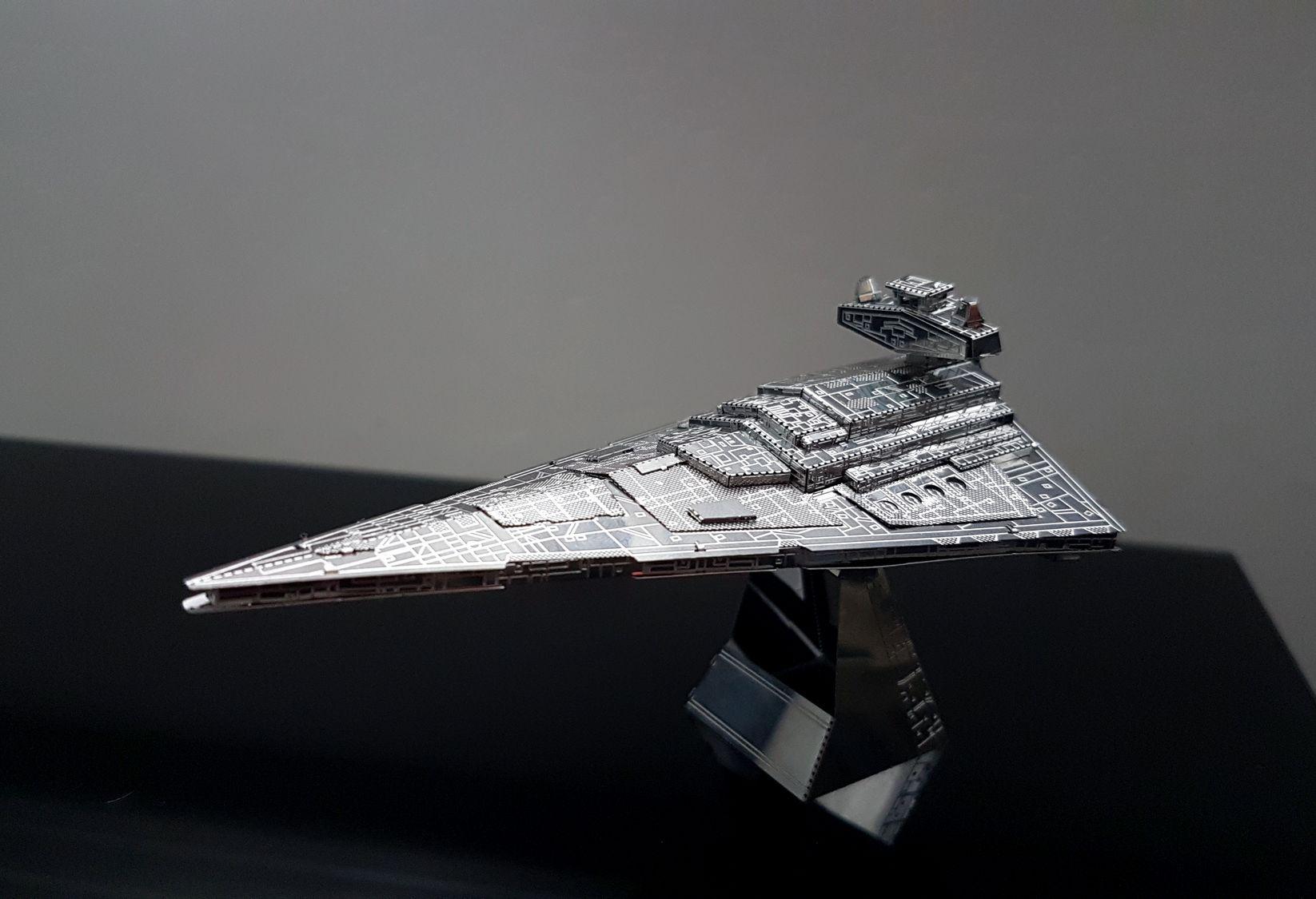 Maquette Star Wars Imperial Destroyer par Cora de Limoges