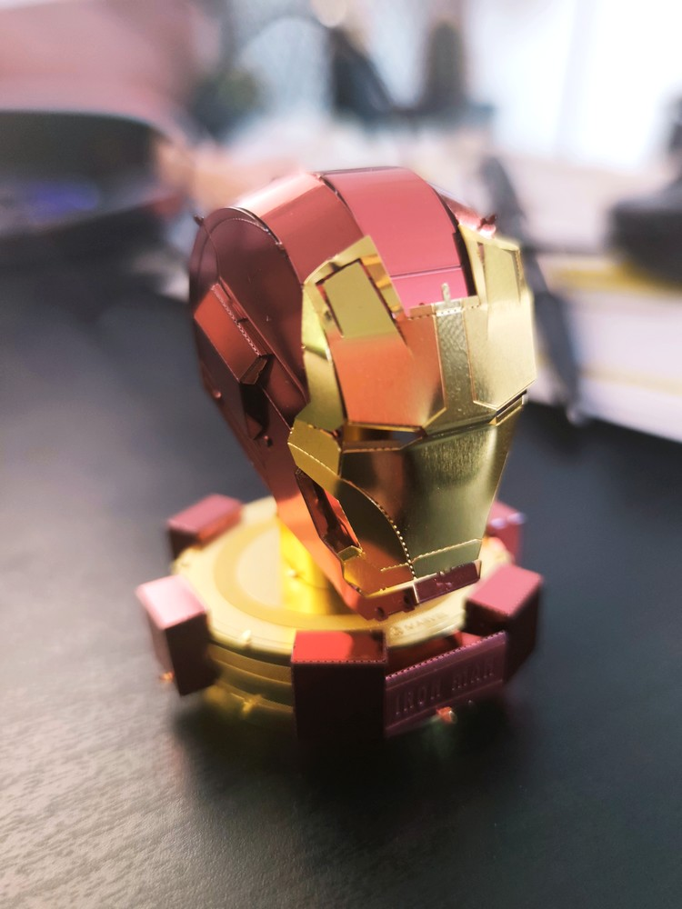Casque Iron Man by Kevin