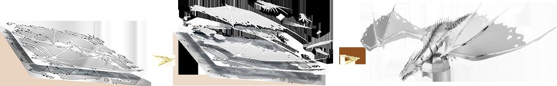 Schéma assemblage Gringotts